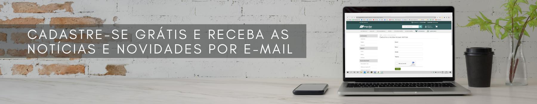 Cadastre-se por e-mail