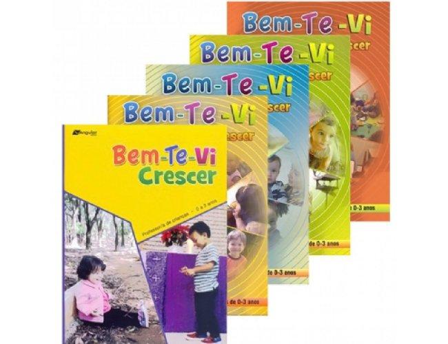 Bem-Te-Vi Crescer (0-3)  Coleção de 5 revistas