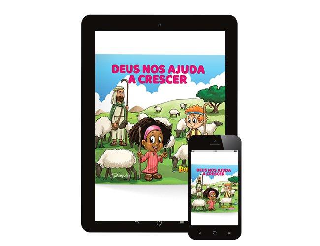 Bem-Te-Vi Jardim - Deus Nos Ajuda a Crescer - Aluno/a - 2021/1 - Digital