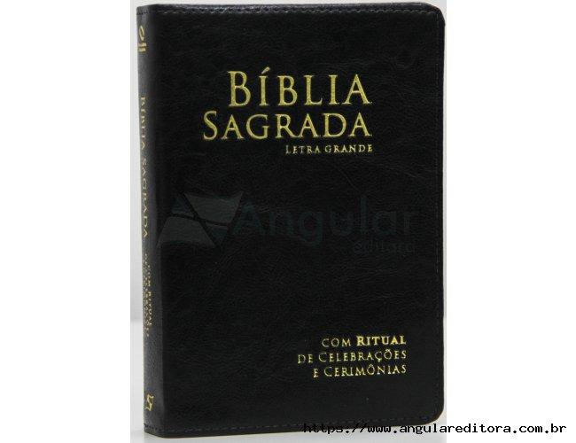 Bíblia com Ritual Preta