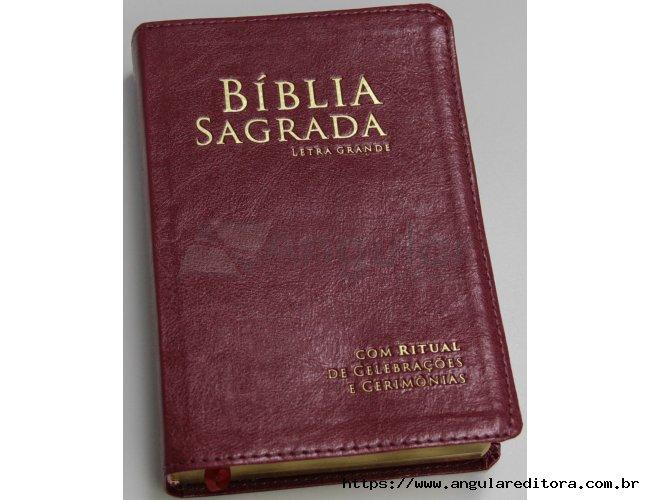 Bíblia com Ritual Vermelha