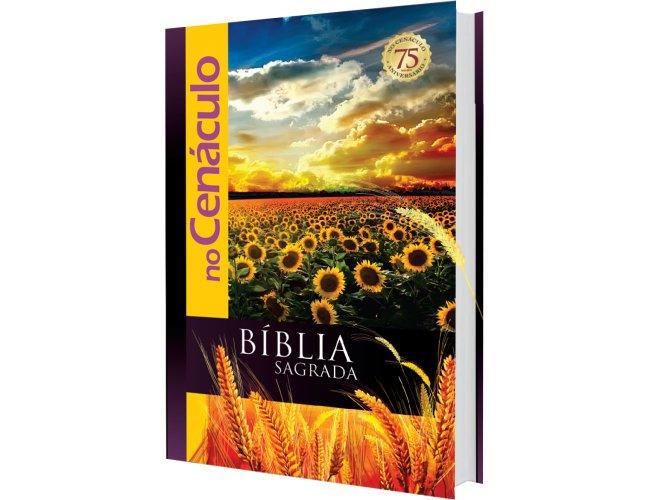 Bíblia Celebrativa do 75 anos no Cenáculo no Brasil.