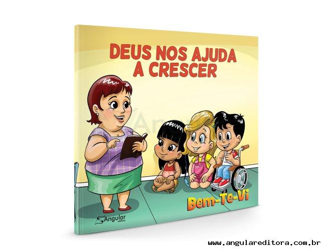 Bem-te-vi 7 - 9 anos - Deus Nos Ajuda a Crescer - Aluno/a - 2021/1