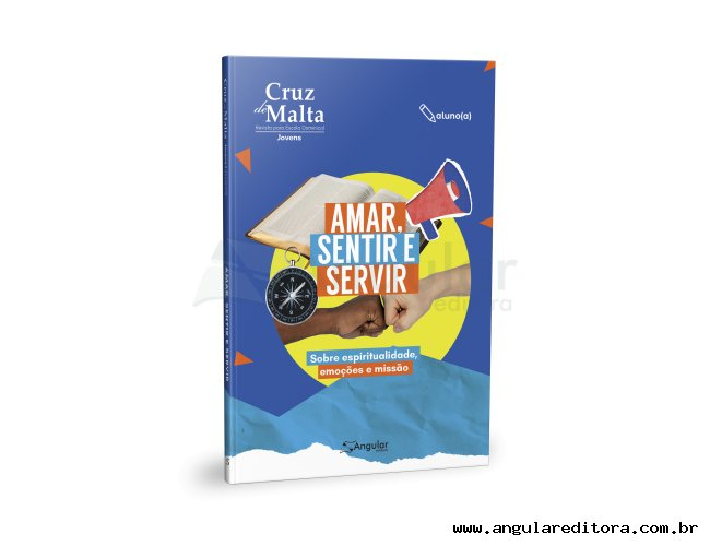Cruz de Malta - Aluno - Amar, Sentir, Servir - 2021/2