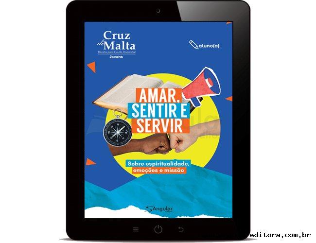 DIGITAL - Cruz de Malta - Aluno - Amar, Sentir, Servir - 2021/2