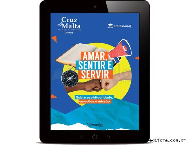 DIGITAL - Cruz de Malta - Professor - Amar, Sentir, Servir - 2021/2