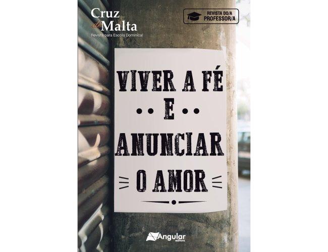 Cruz De Malta (Professor/A) - Jovens - Viver a Fé e Anunciar o Amor