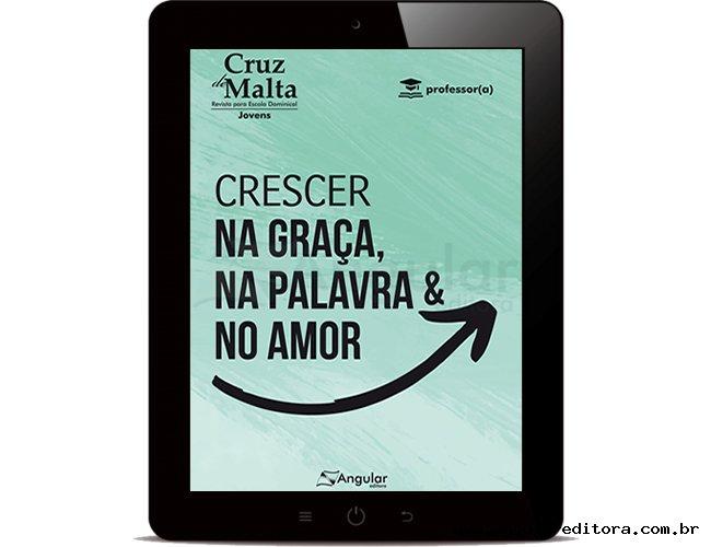 Cruz de Malta (Professor/a) - Crescer na Graça, na Palavra e no Amor - 2021/1 - Digital