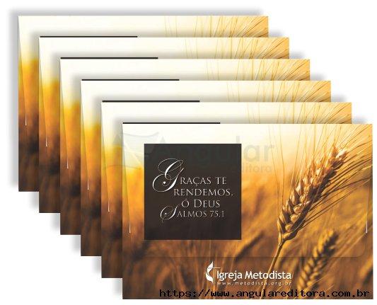 Envelope Para Dízimo - pacote com c/ 25 unidades