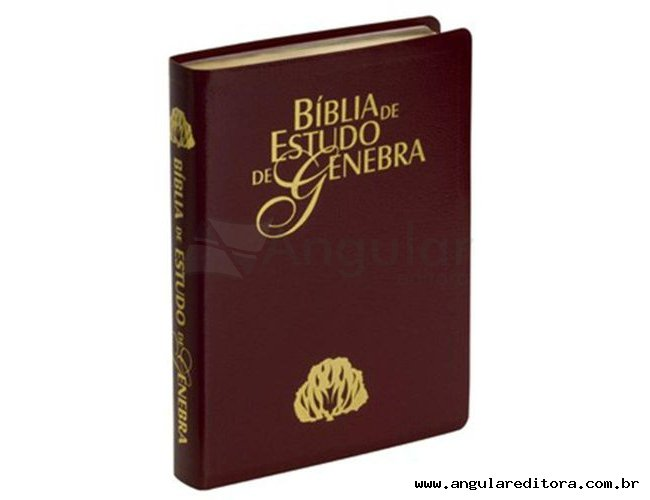 Bíblia de Estudo Genebra - Vinho