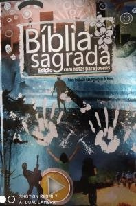 Bíblia Jovem - Capa Dura Azul