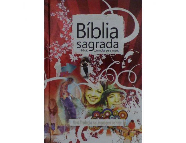 Bíblia Jovem - Capa Dura Vermelha