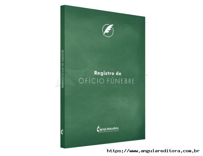 Livro de Registro Fúnebre Metodista