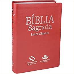 Bíblia Nova Almeida Atualizada Pessego - Gigante