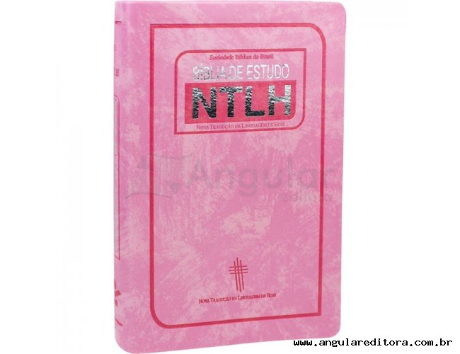 Bíblia de Estudo NTLH - Rosa